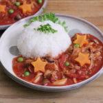豚肉とトマト缶で簡単ハヤシライス