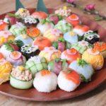 ひなまつり手まり寿司