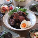 豚スペアリブのマーマレード煮